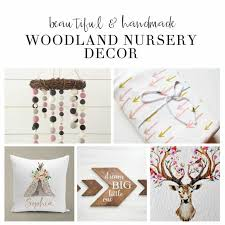 Woodland Decor Nursery Baby Woodland Nursery Decor Inspiration