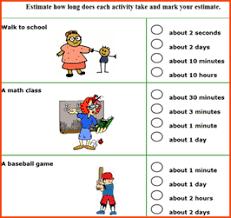 estimating worksheets first grade math games