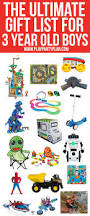 the ultimate list of gift ideas for a 3 year old boy everything