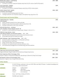 Mechanical Engineer Resume Example by 28 Resume Sample Of Design Engineer Hardware Design
