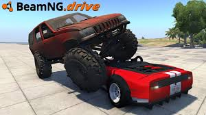 Beamng Drive Monster Jeep Youtube