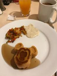 cuisine mickey mickey waffle warm syrup hash browns gravy picture of 1900