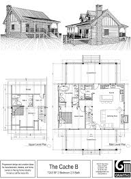 Cabin Blueprints Free by Tiny Cabin Plans With Loft