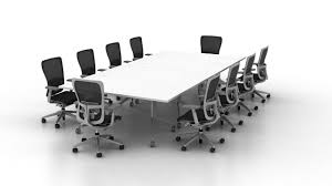 Large White Meeting Table Conference Room Large Modern New 2017 The Table Meeting Office