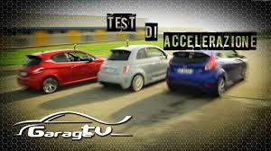 St Vs Abarth 500 Ford St Abarth 500 Ss Peugeot 208 Gti Accelerazione 0