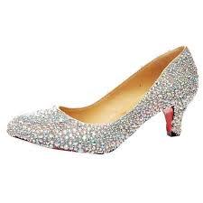 wedding shoes kitten heel rhinestone sole kitten heel wedding shoes
