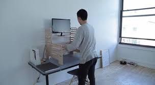 Easy To Assemble Desk Ergonomic Upstanding Desks Standing Desk