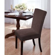 Diy Dining Room Chair Covers by Appealing Parson Chair Slipcovers Slipcover Skirted Slipcover