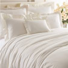 Bed Cover by Lia Ivory Duvet Cover Luxe