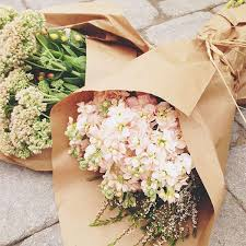 paper wrapped flowers pretty bouquets flowers flowers flower and flora