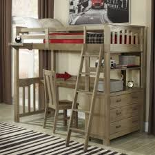 Bunk Bed With Desk And Drawers Loft Beds With Desks Hayneedle