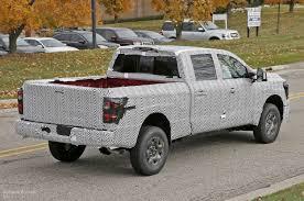 nissan titan diesel 2016 2016 nissan titan spied testing isv cummins turbo diesel
