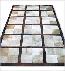 tappeti pelle di mucca tappeto patchwork in pelle di mucca mod cu415 tappeti in pelle