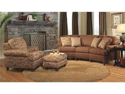 Curved Conversation Sofa Furniture Curved Conversation Sofa Leather Sectional Picture On