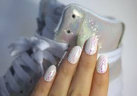 iridescent foil nails 10 blank canvases