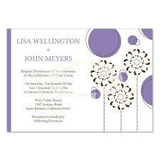 Do It Yourself Wedding Invitation Kits Purple U0026 Brown Wedding Invitation Kit U2013 Julia Hydrangea Diy