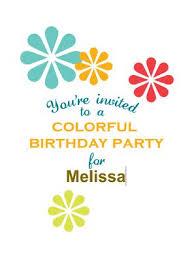 birthday party invitations 17 free printable birthday invitation templates