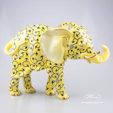 elephant big herend figurines herend porcelain animals