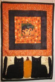 halloween rug happy halloween textile art by lorraine