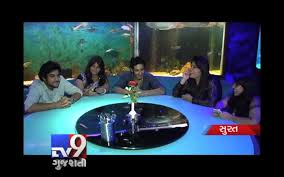 underwater blue resto lounge restaurant clamps in surat tv9