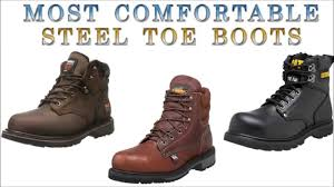 most comfortable steel toe boots youtube