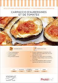comment cuisiner aubergine recette diététique carpaccio d aubergines et de tomates