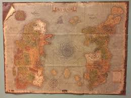 World Of Warcraft Map Amazing Oldschool Physical World Map News Icy Veins Forums