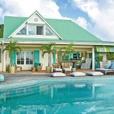 Exotic Beach Houses Classic Tropical Island Home Decor Coastal Living