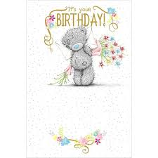 birthday bear card 2 49 tatty teddy