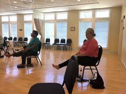 Armchair Yoga For Seniors Yoga For Seniors Ginger Doughty Yoga Teacher Yoga For Everyone