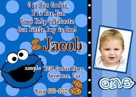 monster invitation cookie monster birthday invitations diy digital printable