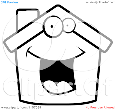 happy halloween clip art black and white happy home clipart black and white clipart panda free clipart
