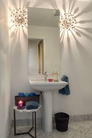 Modern Bathroom Wastebasket Bathroom Wastebasket Powder Room Contemporary With Midcentury