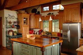 mission style kitchen island 26 craftsman kitchens that will you loving wood
