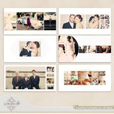 cheap wedding albums wedding wedding album template for photographers via etsy photo