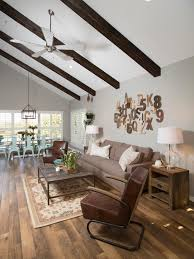 Living Room Ceiling Beams Photo Page Hgtv