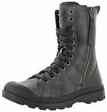 womens boots on ebay palladium pa hi rise s leather combat boots ebay