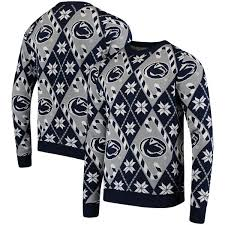 penn state nittany lions repeat crew neck sweater