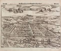 Old Map South America by America Meridionalis Concinnata Juxta Observationes Dnn Lotter