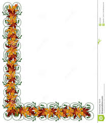thanksgiving in spanish thanksgiving autumn fall leaves border stock photography image