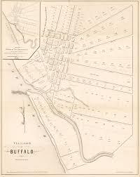 Map Of Buffalo New York by Antique Map Of Buffalo By Ellicott Hjbmaps Com U2013 Hjbmaps Com