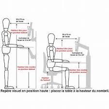 hauteur de bureau de travail hauteur bureau standard hauteur de bureau de travail 28 images
