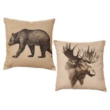 wildlife throws lodge blankets u0026 bear pillows