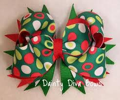 boutique hair bows dainty bows grinch christmas boutique hair bow