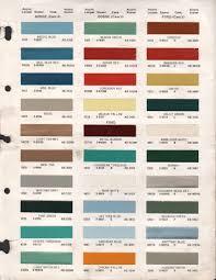 paint chips 1969 dodge truck