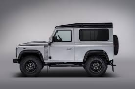 land rover one the 2 millionth land rover defender built is a special one off