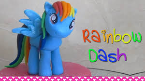 my pony cupcake toppers how to make rainbow dash my pony cake topper figurine out