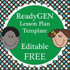 cute lesson plan template u2026 free editable download lesson plans