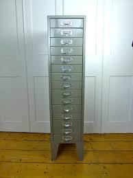 Vintage Industrial File Cabinet Vintage Industrial 15 Drawer Metal Filing Cabinet Eyespy