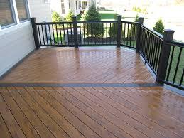 Deck To Patio Transition Composite Decks U2013 Columbus Decks Porches And Patios By Archadeck